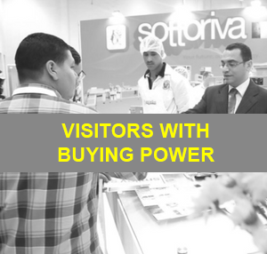 Visitors with buying power